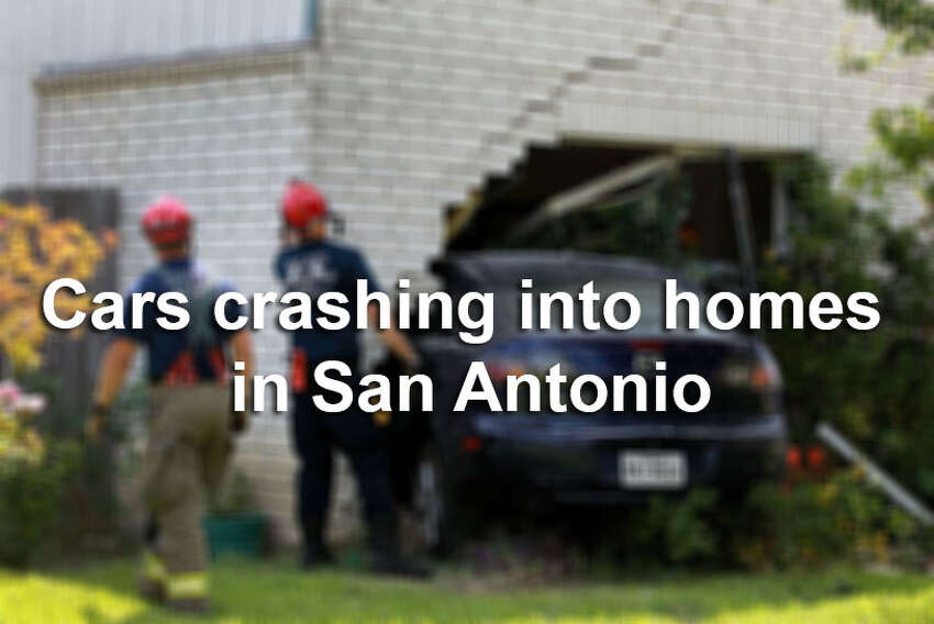 Cars crash into homes in San Antonio more often than you may think. From a VIA bus to a car hitting a city council member's home, click through this gallery to see some of the crashes in the Alamo City.