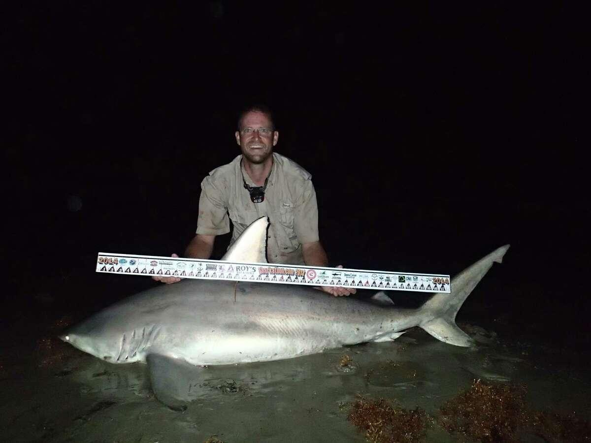 1st Place, Shark Division, $20,000 Sean Curless 74-inch-long blacktip shark