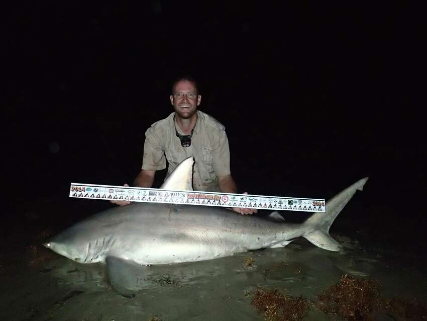 1st Place, Shark Division, $20,000 Sean Curless  74-inch-long blacktip shark