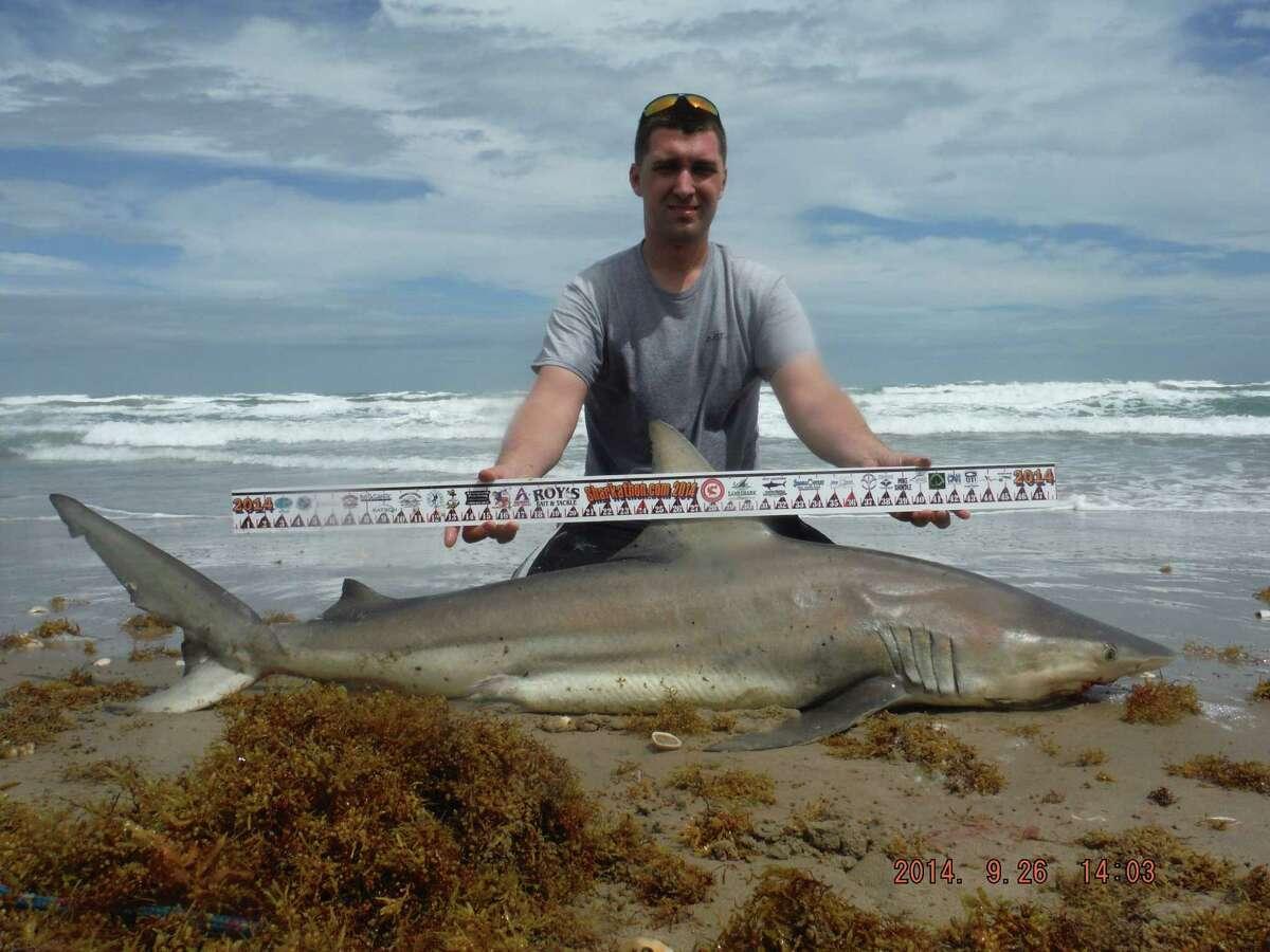 2nd Place, Shark Division, $10,000 Joseph Prince 72-inch-long blacktip shark