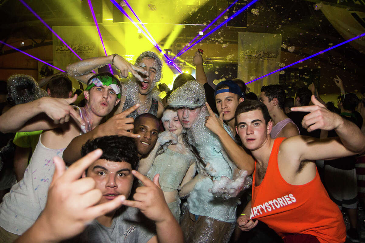 Were You Seen at the Foam N' Glow at the Washington Avenue Armory in Albany on Saturday, October 11, 2014?