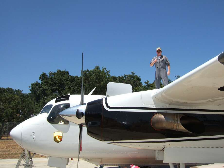 "DynCorp International shows pilot Geoffrey ""Craig"" Hunt who was killed Tuesday, Oct. 7, 2014,  while fighting the Dog Rock Fire in Yosemite National Park. Hunt, 62, a 13-year veteran pilot of Dyncorp International, was flying a S-2T air tanker, similar to the plane in the photo, under contract with the state, when his plane hit a canyon wall while fighting the blaze that has caused the closure of the major western entrance into the heart of the park. CalFire has temporarily grounded it's fleet of S-2T's for inspection. Photo: DynCorp International, Associated Press"
