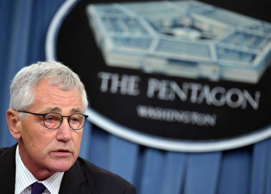 """""""Our militaries' readiness could be tested,"""" Defense Secretary Chuck Hagel said to colleagues from 30 countries. Photo: MANDEL NGAN / AFP/Getty Images / AFP"""
