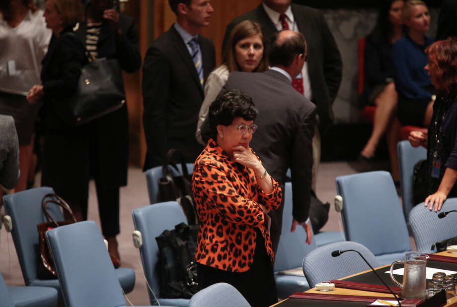 Dr. Margaret Chan, the director general of the World Health Organization, attends a session on the Ebola outbreak in West Africa at the U.N. headquarters in New York. Photo: OZIER MUHAMMAD / New York Times / NYTNS