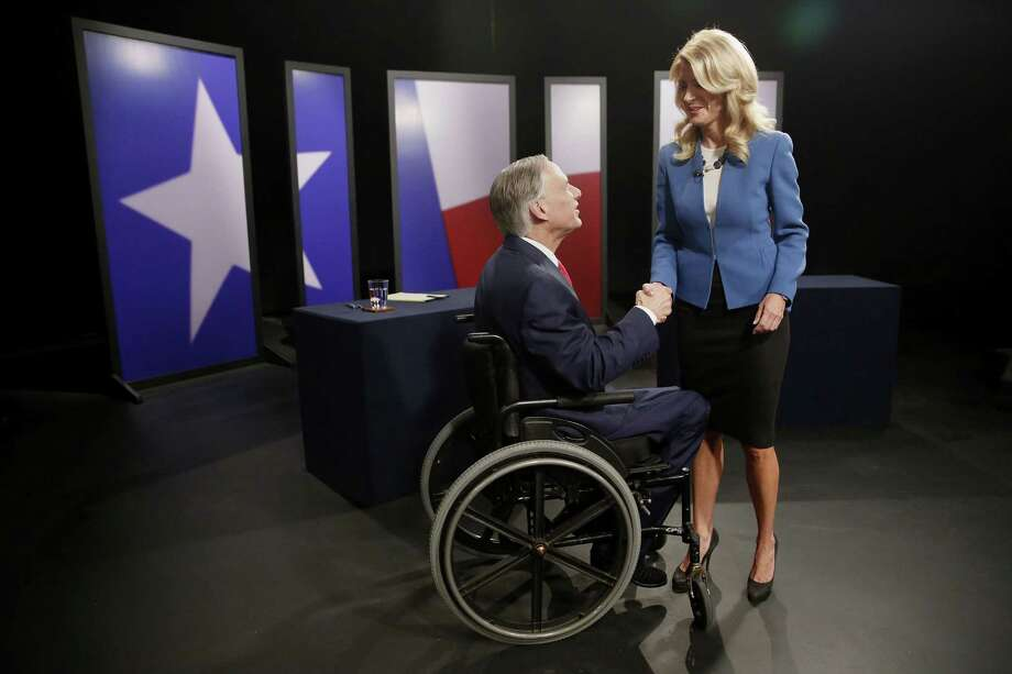 Wendy Davis may have shot herself in the foot with her latest political ad. As Houston Chronicle columnist Lisa Falkenberg noted: It had a solid message, but it was clumsily delivered. We've compiled a list of the sharpest, most biting mudslinging that's taken place in the 2014 fight for the Texas governorship. Photo: Andy Jacobsohn, MBR / Dallas Morning News