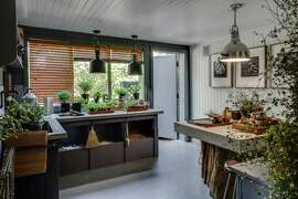 Randy McDannell transformed the basement of a Pacific Heights mansion into the ultimate potting shed for the S.F. Decorator Showcase.