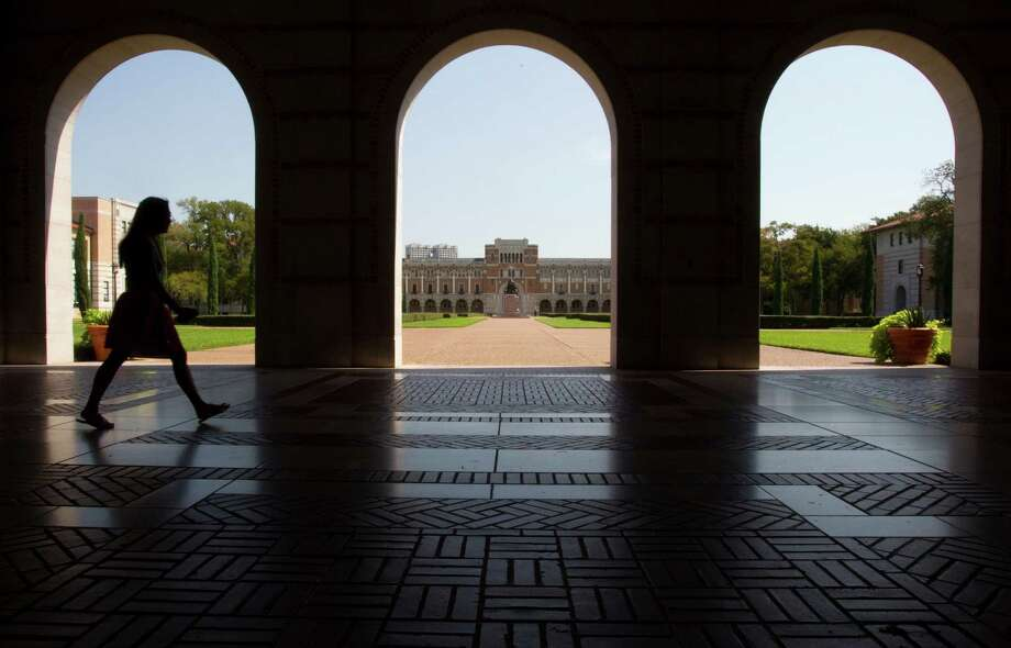 NATIONAL UNIVERSITIESRice University (Houston)National Universities (No. 18)Other rankingsBest undergraduate teaching (No. 10)Best value school (No. 14)Best colleges for veterans (No. 14)Admission rate: 15 percentSource: U.S. News & World Reports Photo: Brett Coomer, HC Staff / © 2012 Houston Chronicle