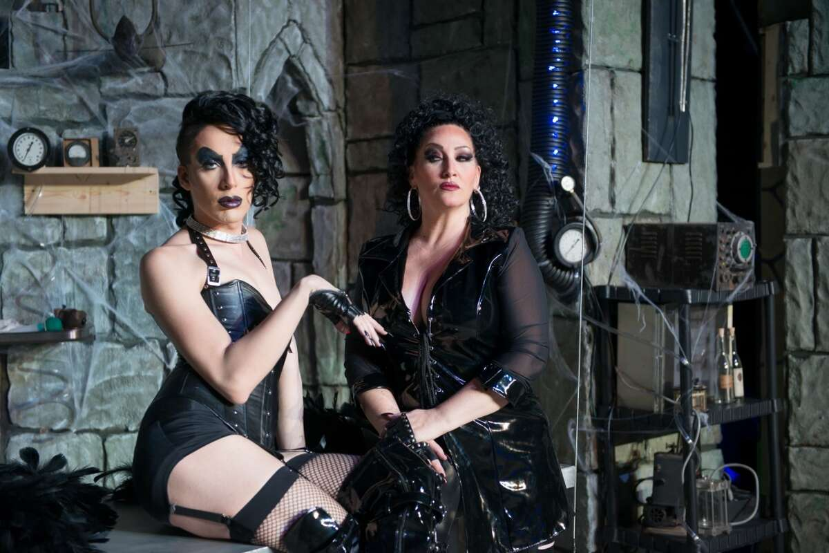 Michelle Visage, right, and Alaska in the 2013 production of