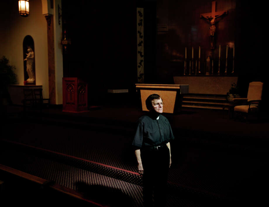 Father Tony LaTorre, pastor of St. Philip the Apostle Church in Noe Valley, is waiting to hear how S.F. Archbishop Salvatore Cordileone interprets statements from the Vatican on gays, divorce and cohabitation. Photo: Sarah Rice / Special To The Chronicle / ONLINE_YES
