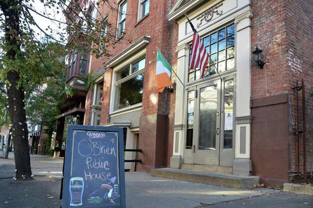 Exterior of O'Brien's Tavern on Third St. Friday Oct. 10, 2014, in Troy, NY.  (John Carl D'Annibale / Times Union) Photo: John Carl D'Annibale / 10029004A