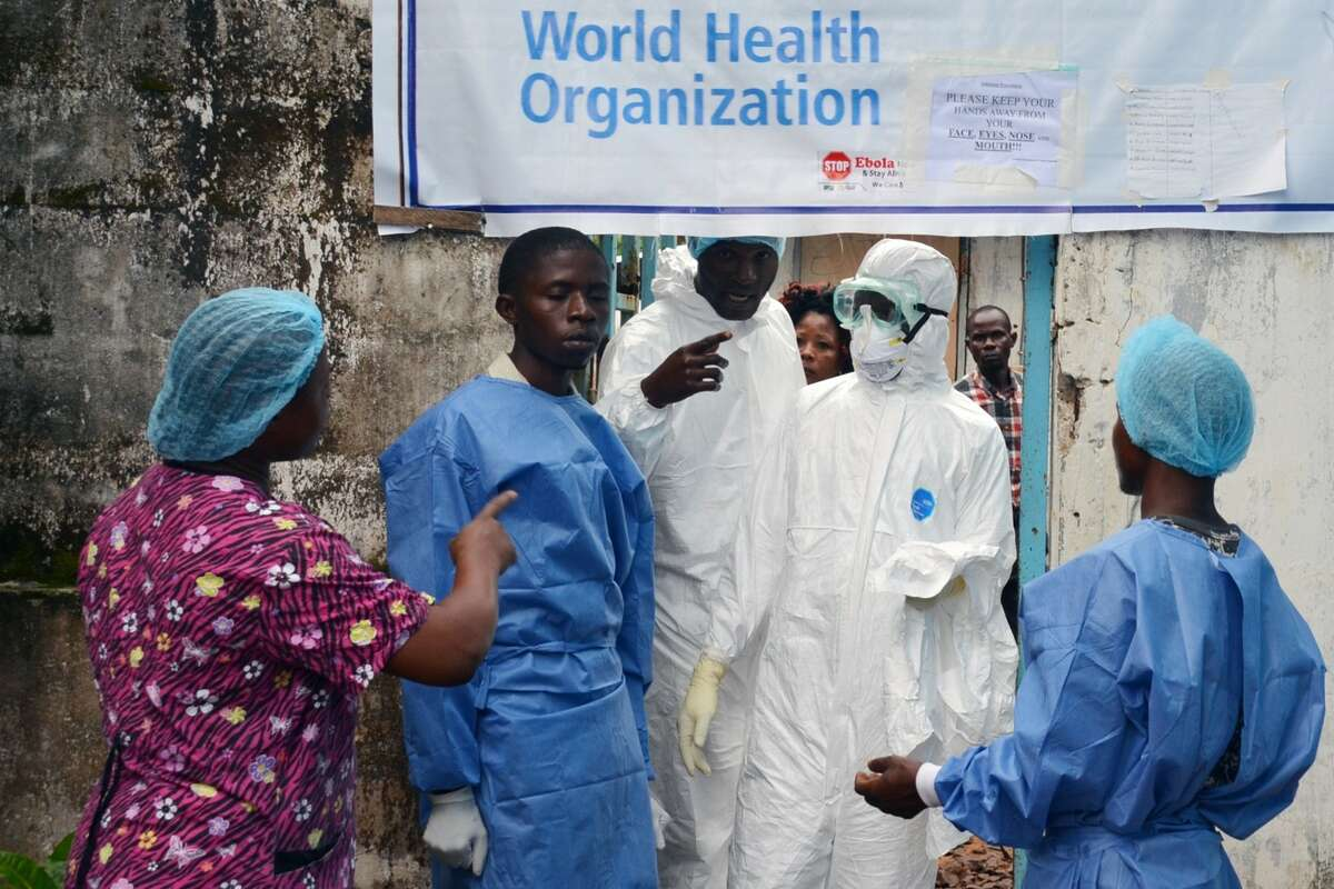 Health workers across Liberia, including those at the John F. Kennedy Medical Center in capital Monrovia, went on strike Monday to demand danger money to care for the sick at the heart of a raging Ebola epidemic that has already killed dozens of their colleagues. Liberia is the hardest-hit country of the outbreak.