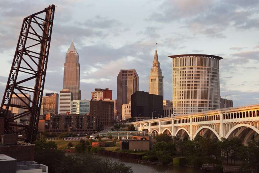These are the U.S.A.'s 25 most fit cities. 25. Cleveland, Ohio