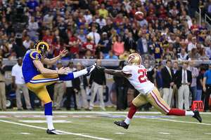 49ers' Ward hopes to put better foot forward in 2015 - Photo