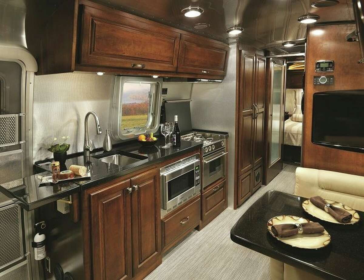 Inside the new 2015 Airstream Classic
