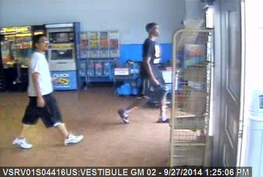 Suspects wanted in Sept Walmart fire Houston Chronicle