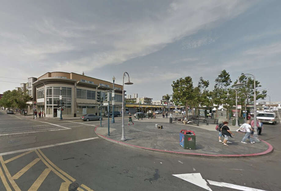 A man was wounded early Tuesday on Jefferson Street near Pier 41 shortly after 3 a.m. Photo: Google Maps