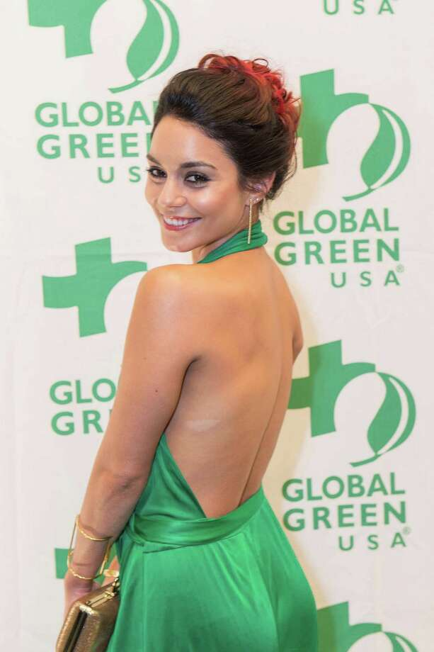 Actress Vanessa Hudgens at the 10th annual Gorgeous & Green Gala at the Bently Reserve in San Francisco on October 10, 2014. Photo: Drew Altizer Photography/SFWIRE, Drew Altizer Photography / ©Drew Altizer Photography 2014