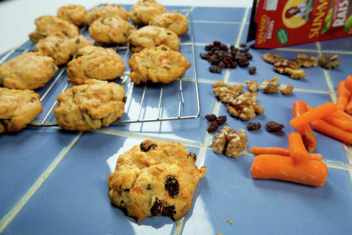 Kitchen to kitchen's carrot cookiesThursday, Oct. 2, 2014, in Houston. ( Johnny Hanson / Houston Chronicle )