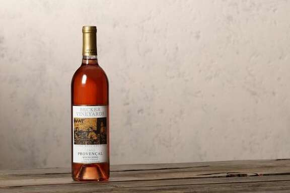 2013 Becker Vineyards Provené§al Mourvé¨dre Dry Rosé, Tallent Vineyard