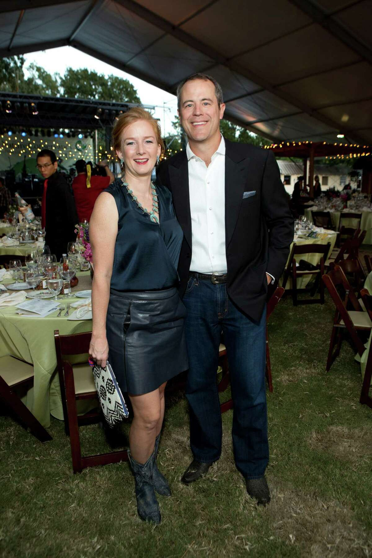 Chairs Allison and Troy Thacker