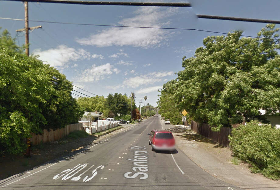 A man was slain in a home on the 3400 block of Sanford Street in Concord, Calif.. Photo: Google Maps