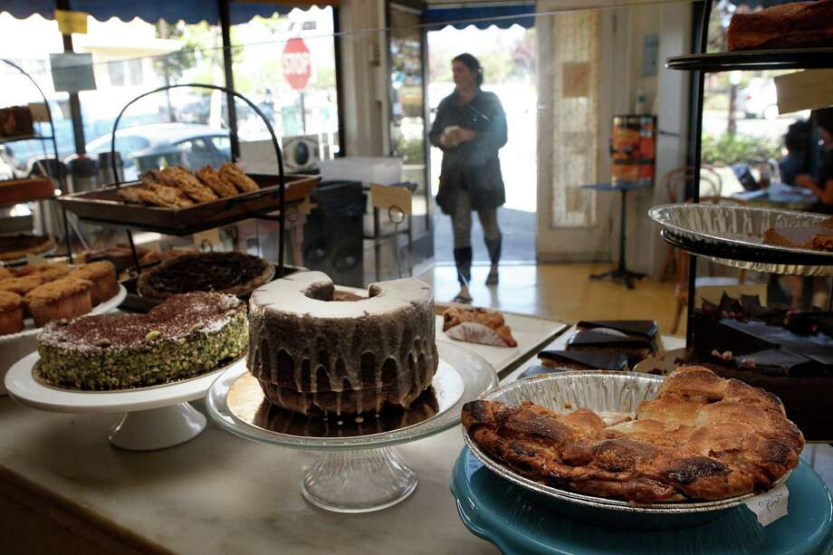 The Sweet Adeline Bakeshop remains a community touchstone. Baked goods abound, but you can also get a sandwich to go. Photo: Liz Hafalia / The Chronicle / ONLINE_YES