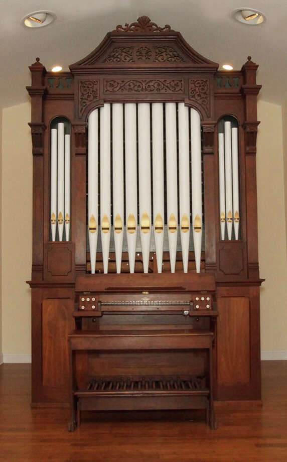 This circa 1875 pipe organ has been installed in Our Saviour's Lutheran Chutch and will be dedicated during a concert on Sunday, Oct. 26. Photo: Westport News/Contributed Photo / Fairfield Citizen