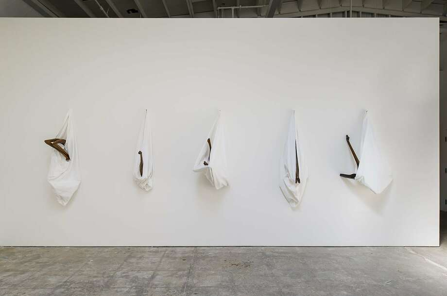 Markus Schinwald's work is on view at CCA Wattis Institute for Contemporary Arts Photo: Johnna Arnold