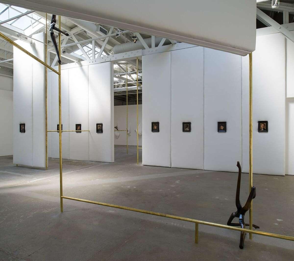 Markus Schinwald's work is on view at the CCA Wattis Institute.