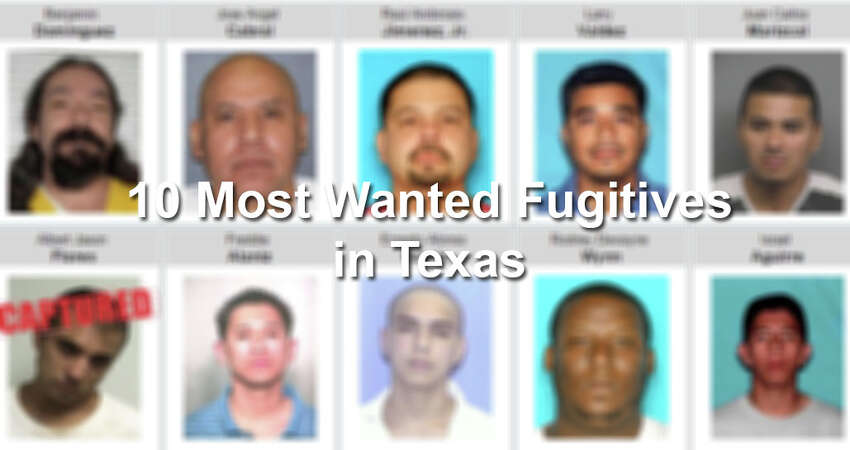 Earn up to $50,000 cash for information leading to the arrest of one of these 10 Most Wanted Fugitives. To provide a tip, visit www.dps.texas.gov.