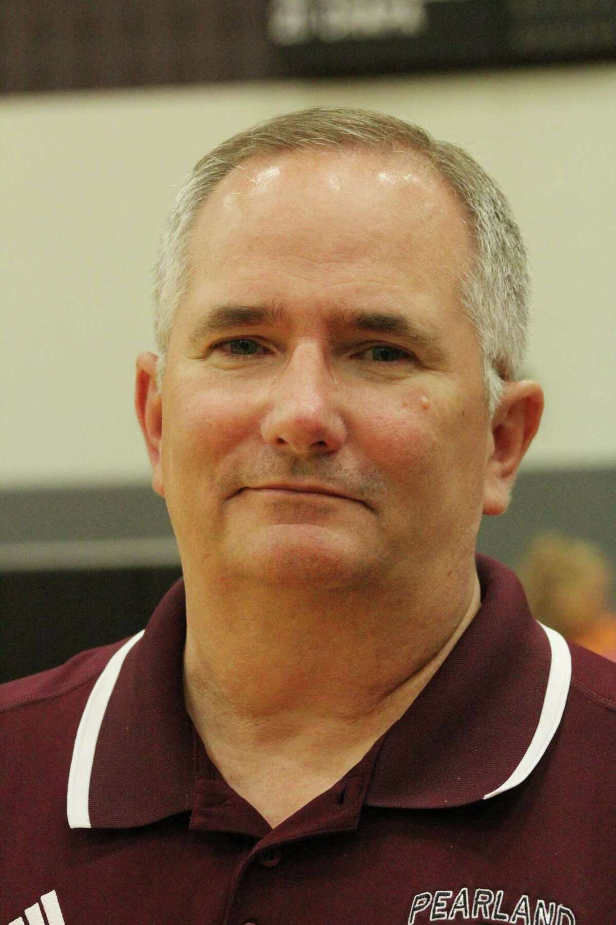 Coach Turner, head volleyball coach in Pearland.