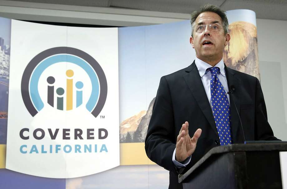 In this Nov. 13, 2013 file photo, Peter Lee, executive director of Covered California, the state's health insurance exchange, talks at a news conference in Sacramento, Calif. Long before it opened its doors to the public last fall, California's health insurance exchange awarded a small contract to a business consultant, Leesa Tori, for her advice on designing a program to sell insurance to small companies The industry veteran was a friend and former co-worker of Peter Lee, the exchange's top executive. The seemingly minor deal would mark the beginning of a lucrative and far-reaching partnership between the new state agency and the boutique consulting company Tori formed last year, just as national health care reform took root across the U.S. Photo: Rich Pedroncelli, Associated Press