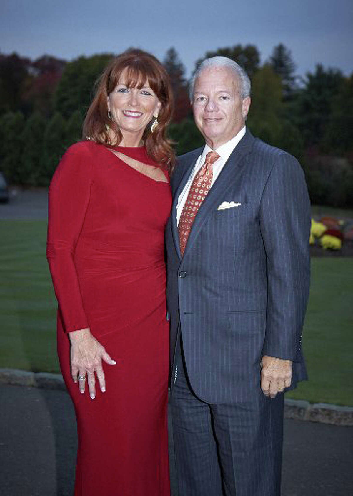 Greenwich Hospital will hold its annual black-tie gala at 6 p.m. on Oct. 25 at the Greenwich Country Club, 19 Doubling Rd. This yearís gala honors hospital President and CEO Frank Corvino, pictured with his wife, Maura, at last yearís gala.