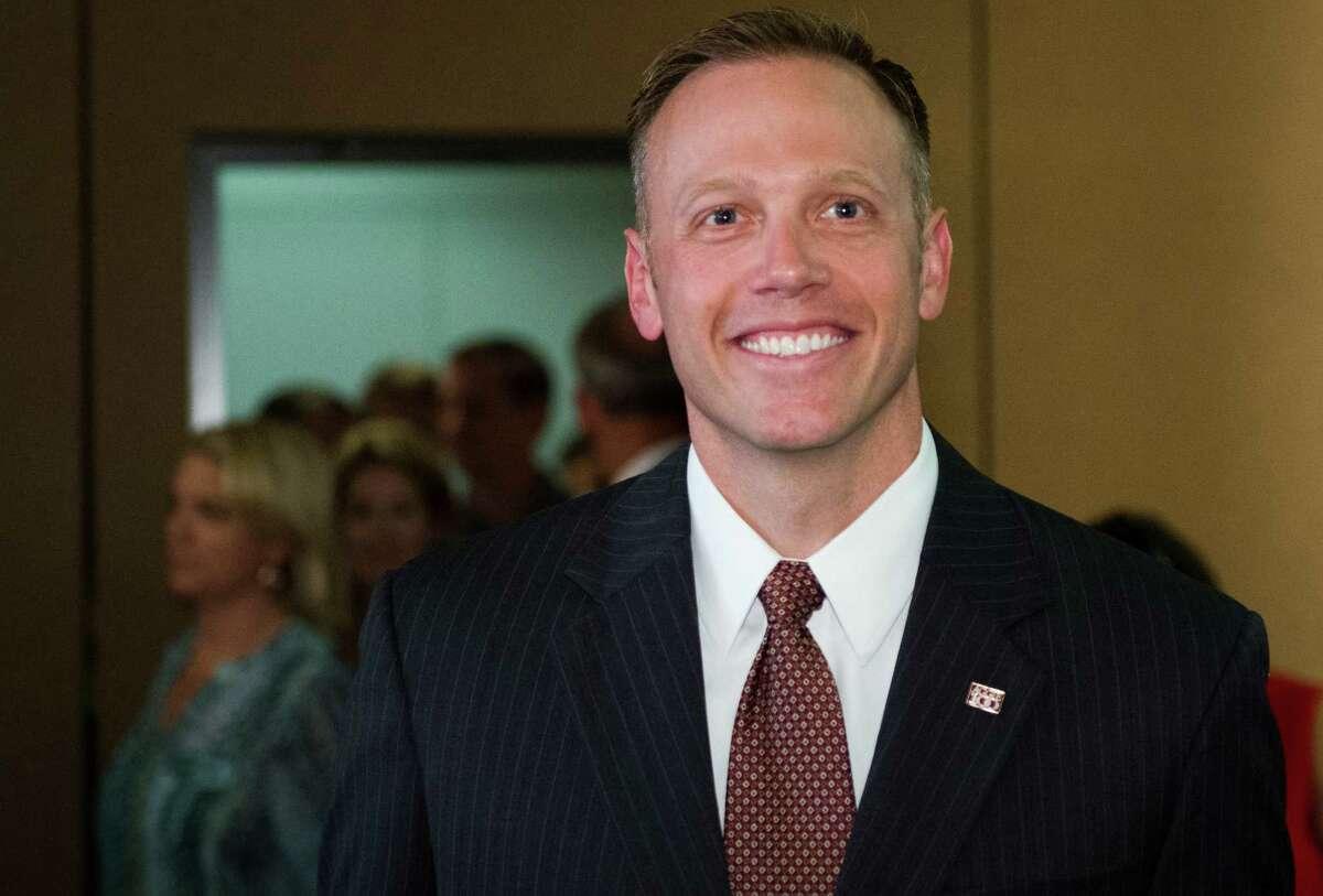 Texas Railroad Commission candidate Ryan Sitton.( Smiley N. Pool / Houston Chronicle )