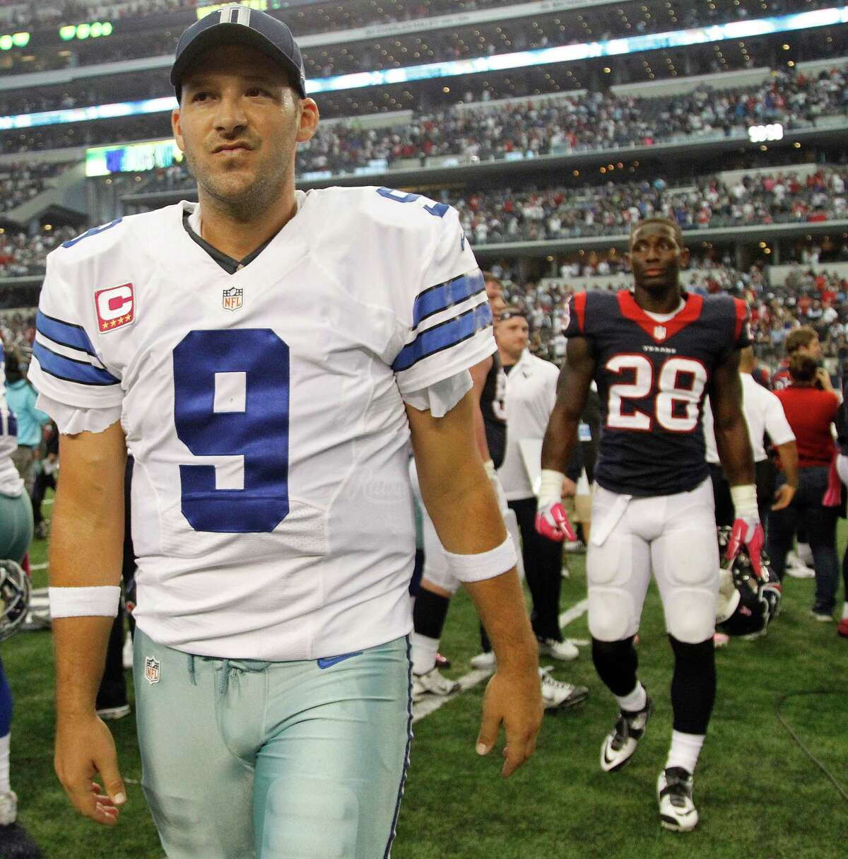 2. Tony Romo, QB, Dallas Cowboys