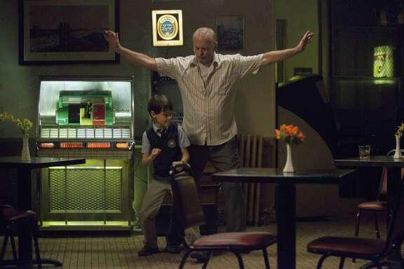 """Bill Murray, right, and Jaeden Lieberher star in """"St. Vincent."""""""