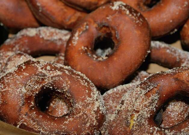 Doughnuts at Nibble, Inc. on Broadway Thursday Oct. 2014, in Troy, NY.  (John Carl D'Annibale / Times Union) Photo: John Carl D'Annibale / 10028960A