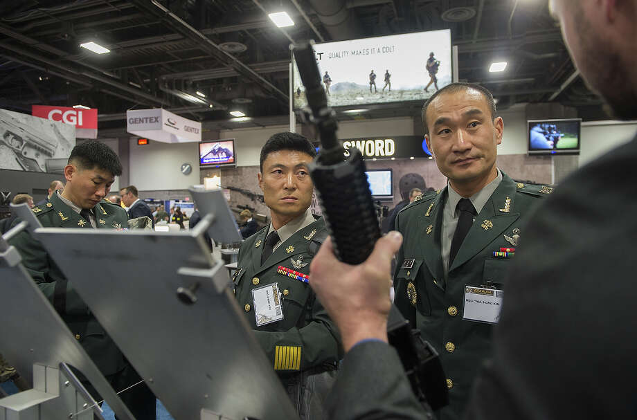 Crazy Stuff At Military Trade Show Houston Chronicle