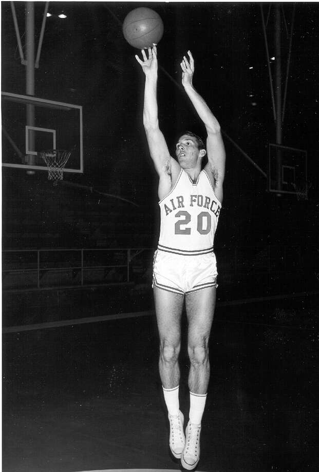 Gregg Popovich while he was at the Air Force Academy in the 69-70 season. This was his senior season. Courtesy Air Force Academy Photo: COURTESY PHOTO / AIR FORCE ACADEMY