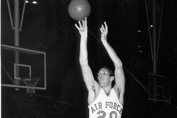 Gregg Popovich while he was at the Air Force Academy in the 69-70 season. This was his senior season. Courtesy Air Force Academy