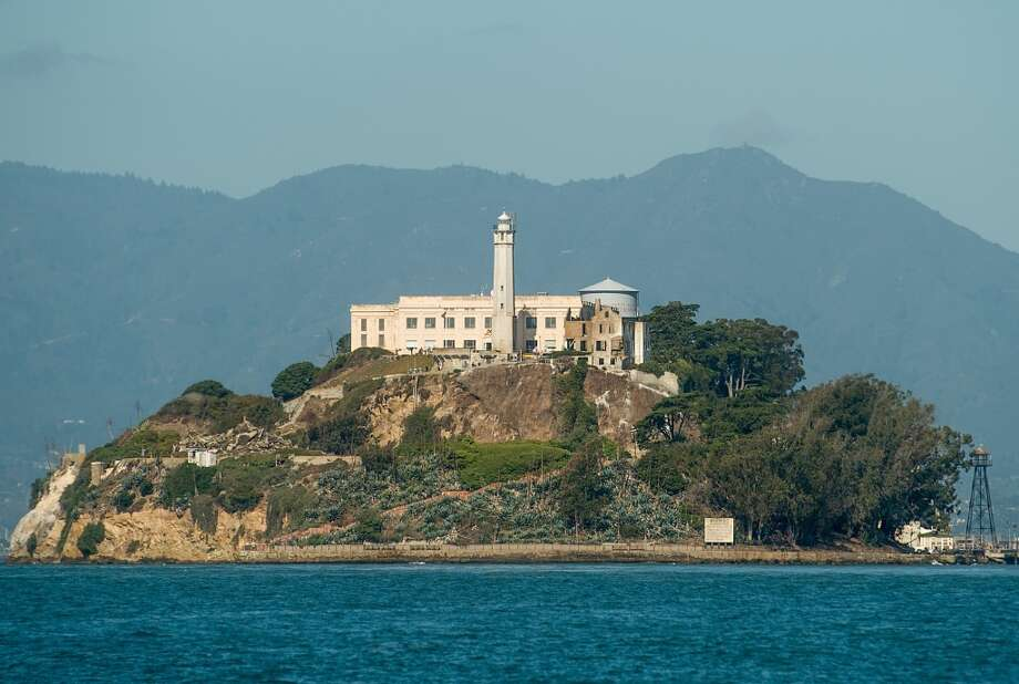 A body was found in San Francisco Bay water north of Alcatraz on Tuesday morning. Photo: NOAH BERGER, AFP/Getty Images