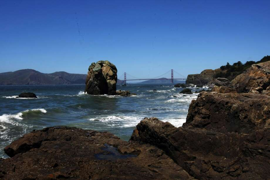 A hike along Land's End, especially a side-trek down to the breath-taking rock labyrinth, is a rugged change of pace. Also, it's usually pretty empty, and peppered with interesting information markers, one of which details local ship wrecks. Photo: Rohan Smith, The Chronicle