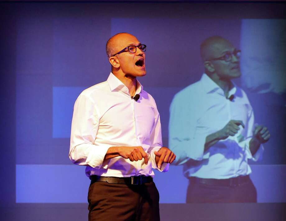 Microsoft CEO Satya Nadella created a controversy when he said that women shouldn't ask for raises. He later apologized. Photo: Manish Swarup / Associated Press / AP