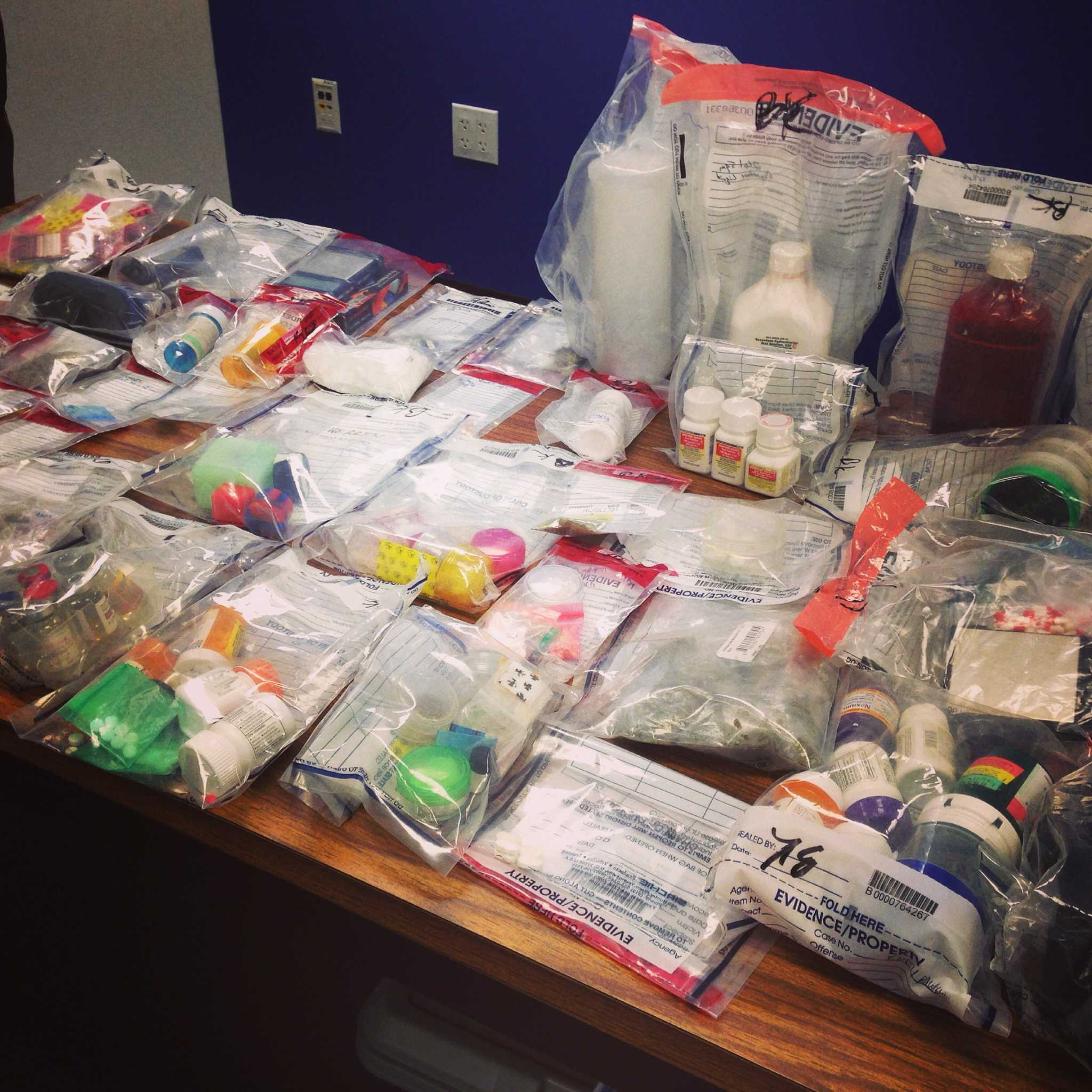 Human growth hormones, steroids seized at Magnolia home