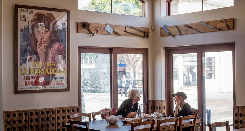 The interior of Porcellino in San Francisco, Calif. is seen on October 10th, 2014.