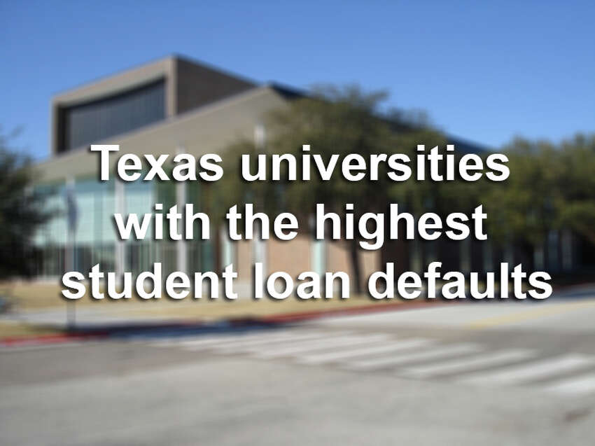 The U.S. Department of Education has released data about which universities have the most students defaulting on their federal loans. Scroll through to see where the 25 worst universities and colleges in Texas for defaults in 2011, the most recent available data.