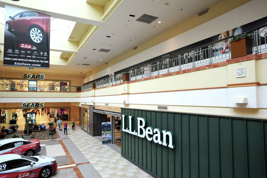 Open space on the second floor above L.L. Bean at the Colonie Center will be the site of Nordstrom Rack.  (Michael P. Farrell/Times Union) Photo: Michael P. Farrell