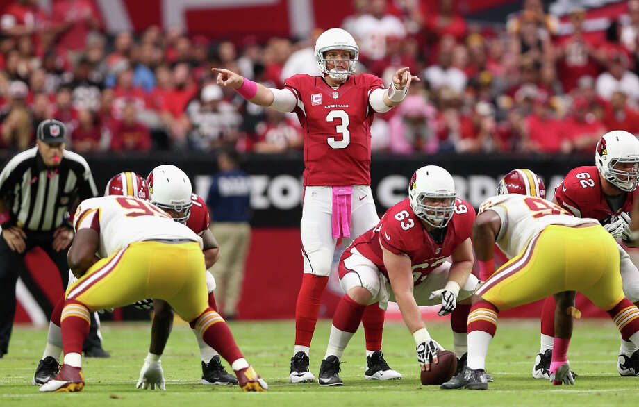 Cardinals quarterback Carson Palmer returned last week against Washington after missing three games with an injury. Photo: Christian Petersen / Getty Images / 2014 Getty Images