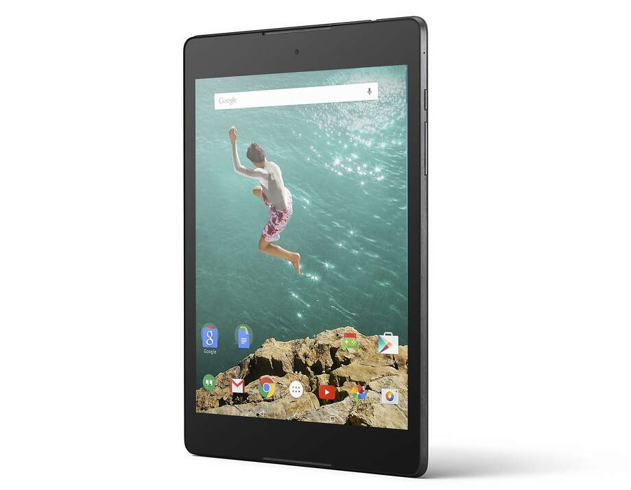 This product image provided by Google shows the Nexus 9 tablet. Google unveiled its latest tablet Wednesday, Oct. 15, 2014, in an apparent effort to upstage Apple's anticipated update of its trend-setting iPad. (AP Photo/Google) Photo: Uncredited, Associated Press