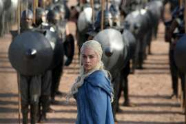 "ws Emilia Clarke as Daenerys Targaryen in a scene from ""Game of Thrones."" HBO plans to offer a stand-alone version of its popular video-streaming service, CEO Richard Plepler said at an investor meeting at parent Time Warner Inc. on Wednesday, Oct. 15, 2014. (AP Photo/HBO, Keith Bernstein, File)"